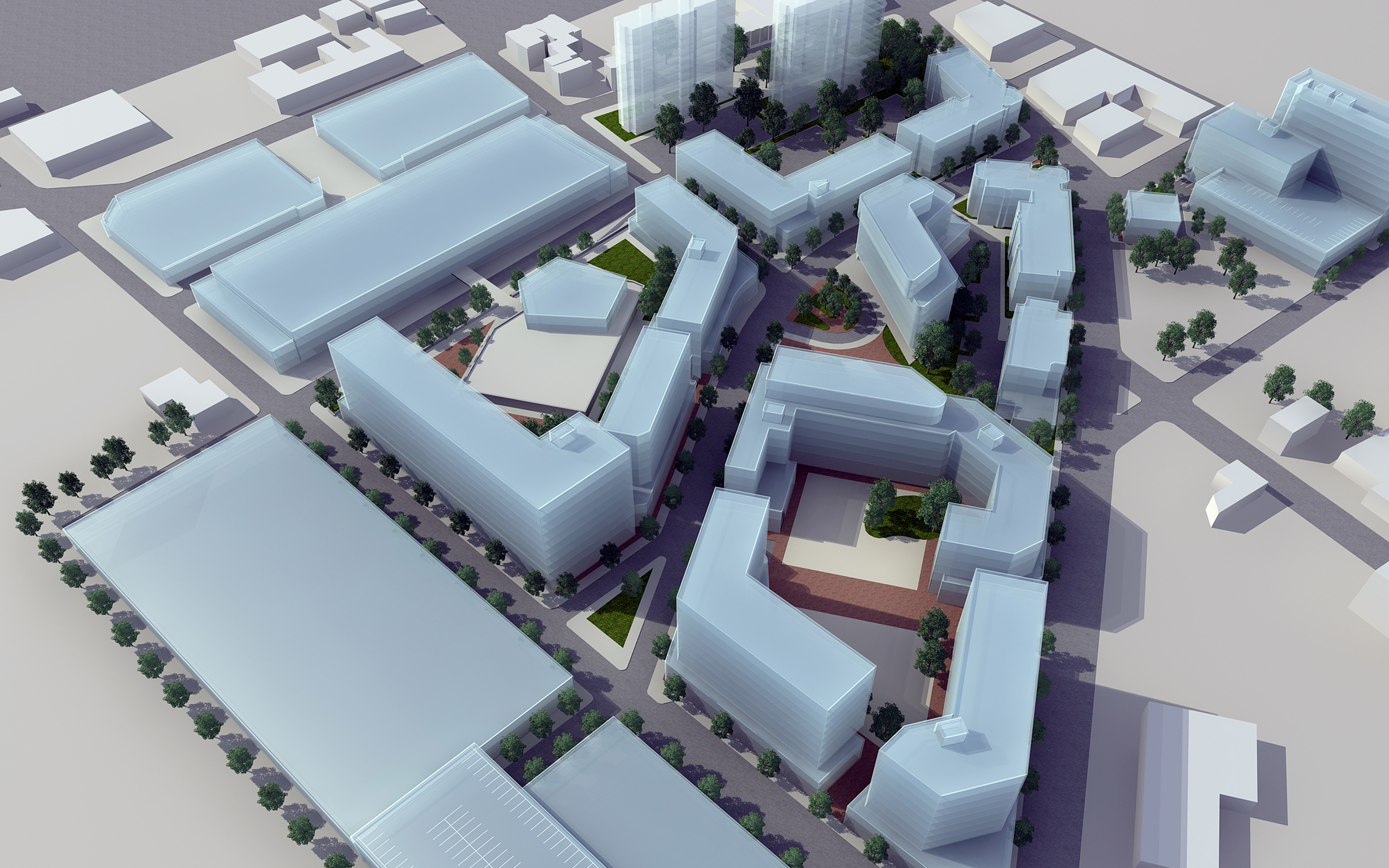 With The Success Of Its Baxter Terrace Development Firm Was Again Commissioned By Newark Housing Authority To Develop A Modern Land Use Planning